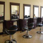 Mueble tipo estación salon de belleza