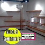 Muebles para exhibidor paneles flotantes