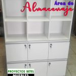 Archivo con 6 gavetas y casillero