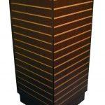 Mueble exhibidor torre de slat wall