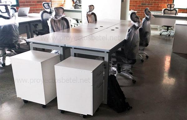 Escritorios para oficina, sillas ejecutivas, archivo movil, credenza, mobiliario para oficina