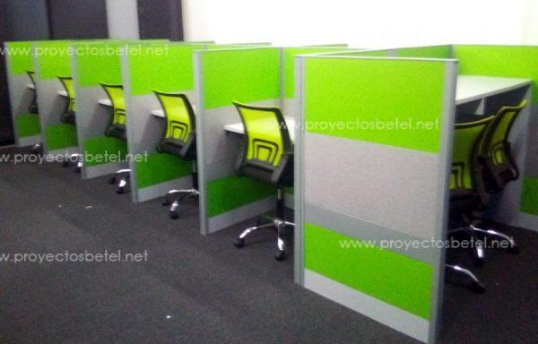 Paneleria modular call center